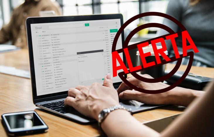 Frauduleuze e-mailwaarschuwing